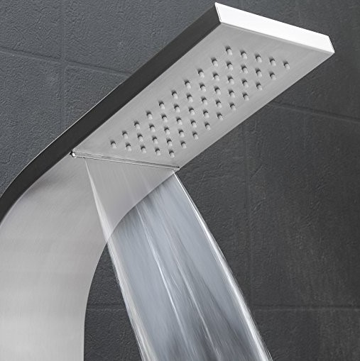 Superior Golden Vantage 63 At Number 4 Of Our Best Waterfall Shower Head ...