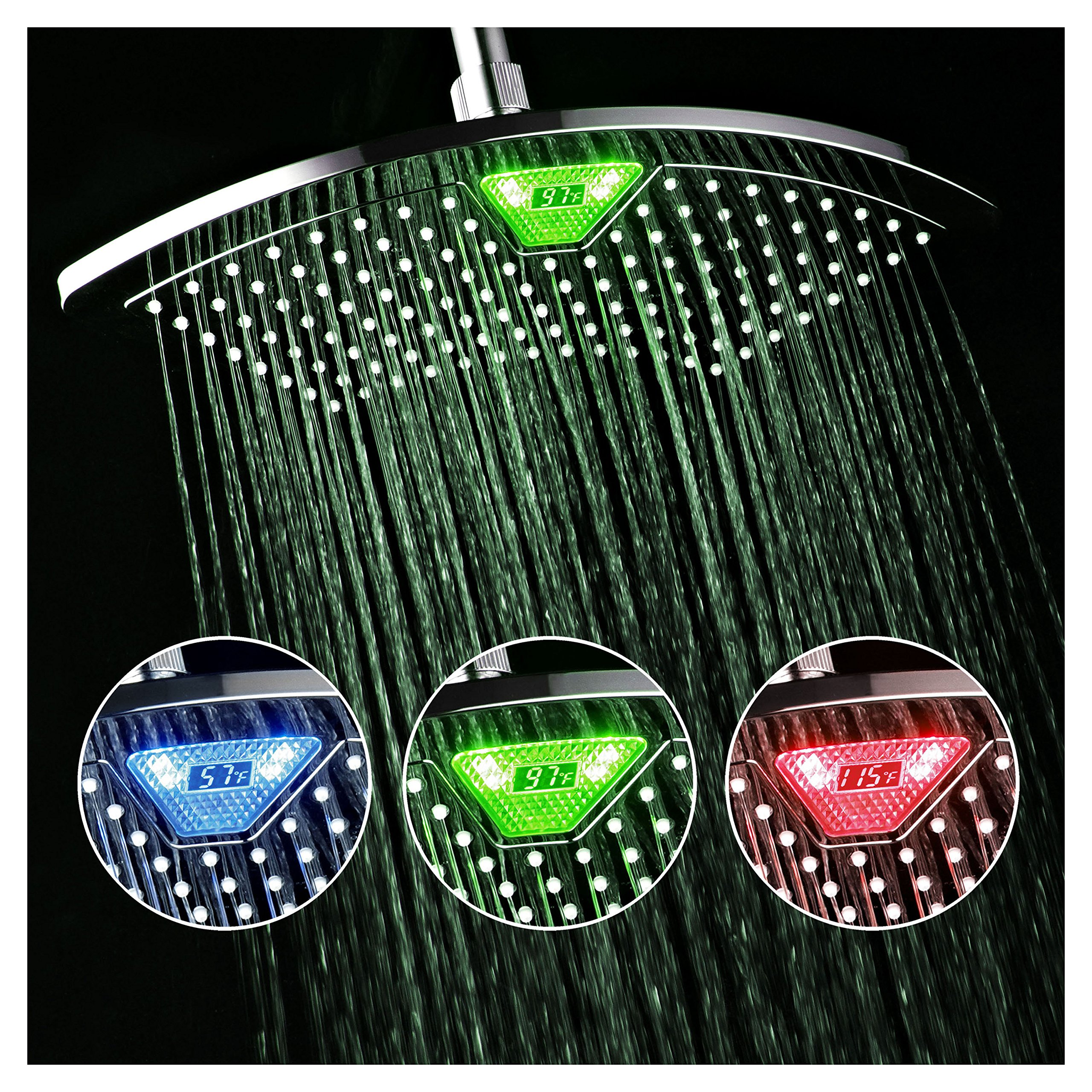 Best Led Shower Head Led Shower Head Reviews Showermeister