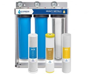 Express Water Heavy Metal Whole House Water Filter